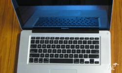 "Macbook pro 15"" late 2008. 500GB Hard drive. 8 GB DDR3"