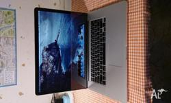 15 inch MacBook Pro with Retina. early 2013 release