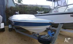 MACHO FORMULA SKI BOAT WITH COVER IN EXCELLENT