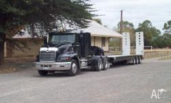 2003 Mack Vision and Lusty Low Loader 1yr old 2.5 -