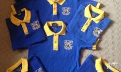 Mackay west state school shirts most in excellent