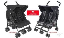 The Maclaren Twin Techno Elite stroller is the number