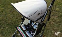 Lovely and bright Maclaren Volo Stroller in good