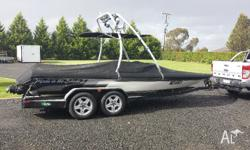 I have for sale our Madison Caprice Ski Boat ( 5