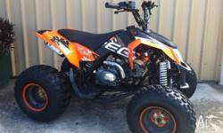 FINANCE AVAILABLE T.A.P. 125CC, 4-STROKE, 3 SPEED