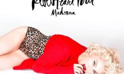 2 x Platinum Madonna Rebel Heart Concert Tickets in the