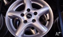 14x6 Mag Wheels ROH Reflex PCD 5x114.3 suit Magna Camry