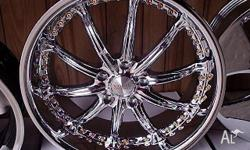 20x8.5 Mag Wheels Kahn Suit Commodore HSV. Brand new
