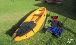 Malibu Pro Explorer fishing kayak. Excellent condition,