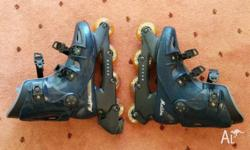 Malibu Nexus series 80A roller skates for men, size