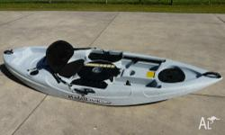 Great little fishing kayak, in excellent condition.