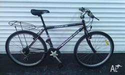 "26"" Malvern Star mountain bike, frame size 19""/47cm."