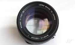 Mamiya 645 80mm 1.9 lens in excellent condition. Body