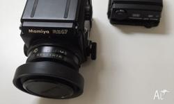 Mamiya 645 Pro Camera w/ 80mm N Lens 120 Back and Power