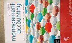 $90 Management Accounting, 2nd Edition ISBN:
