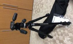 Manfrotto tripod 190X ProB with 804RC2 head comes with