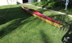 I am selling my Manta K1 kayak as I am looking to buy