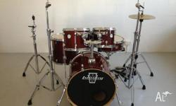 For sale: MAPEX meridian brich (transparent cherry)