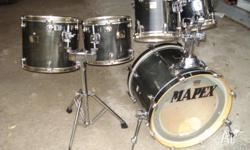 Early rare mapex orion 5-piece fusion shellpack, looks