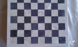 Marble Chess Board Not sure where pieces are - 2 broke