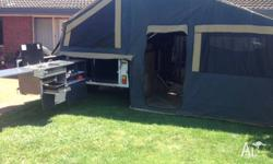 March 2013 Complete Campsite16ft Jabiru off road camper