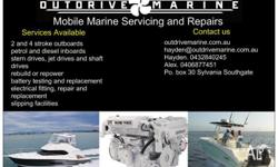 Service/repairs to all marine diesel engines at your