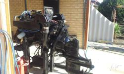 marine engine v8 mercruiser as in picture. not sure of