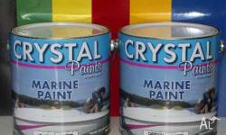 MARINE ENAMEL 4 LITRE WHITE ALSO IN 1 LITRES CAN BE