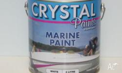 MARINE PAINT WHITE 4 LITRE TODAY CLEARING OUT TO CLEAR