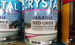 MARINE RED OXIDE PHOSPHATED PRIMER 1 LITRE FOR BARE