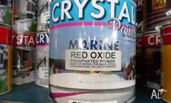 MARINE RED OXIDE PHOSPHATED PRIMER 4 LITRE SPECIALLY