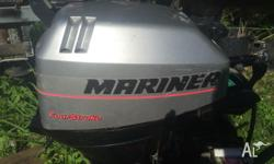 Mariner 15HP 4 Stroke outboard Excellent condition Long