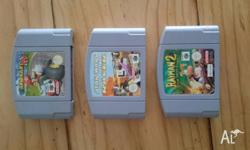 Up for sale is my copy of Mario Kart 64. This classic