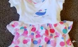 Gorgeous baby girl onesie from Marks and Spencer in the