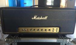 Selling my Vintage Marshall 1973 JMP head, No holes