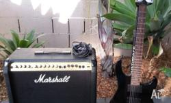 Marshall 80V 8080 Valvestate Amplifer - 80 Watts Plus