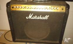 Marshall 100 watt chanel1 is clean chanel 2 classic