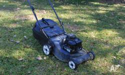MASPORT LAWN MOWER 4 STROKE BRIGGS AND STRATTON STARTS