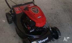 4 stroke Lawn mower with catcher. Hardly used, selling
