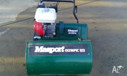 Masport Olympic 500 lawnmower, near new with only 5