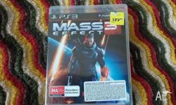 For sale- Mass effect 3 PS3. Beautiful and very fun