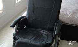 Black HOMEDICS massage chair for sale. Hardly been