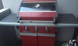 Matador BBQ 2 years old. Great condition. 3 burner.