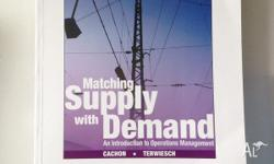 Matching Supply with Demand: An Introduction to