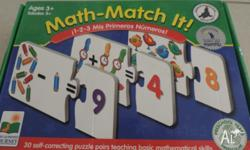 Hi, I have the Learning Journey Math-Match It!