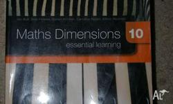 Maths Dimension 10 - 2008 = 1 copy with CD - Good