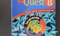 Maths Quest7& 8 for NSW by John Wiley & Sons Australia