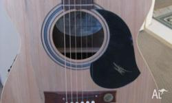 Maton Acoustic guitar with pick up for sale, purchased