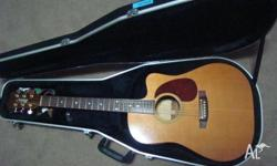 MATON STAGE SERIES ACOUSTIC GUITAR WITH AN INBUILT