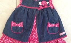 Gorgeous new max and Tilly dress in size (00) for baby